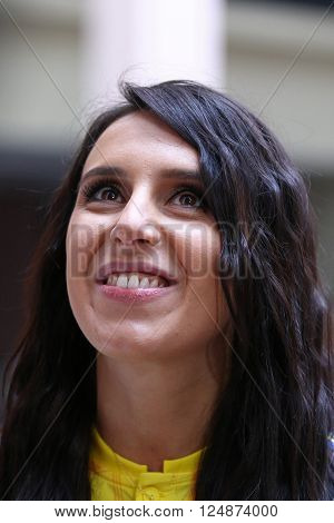 Ukrainian Singer Jamala (represents Ukraine In Eurovision Song Contest 2016)