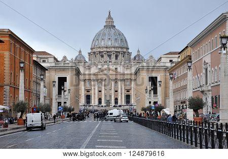 Saint Peter Basilica. Vatican City