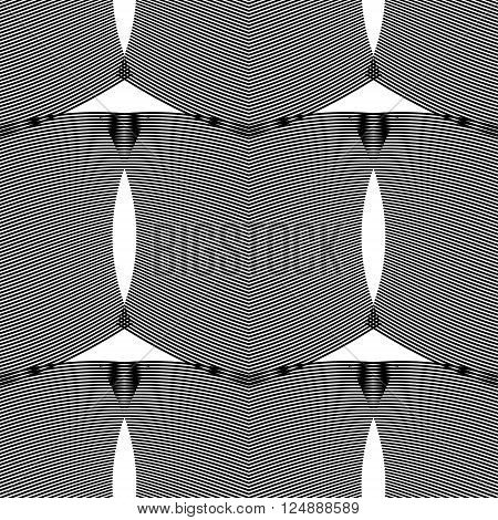 Ripple seamless vector illustration for various creative projects