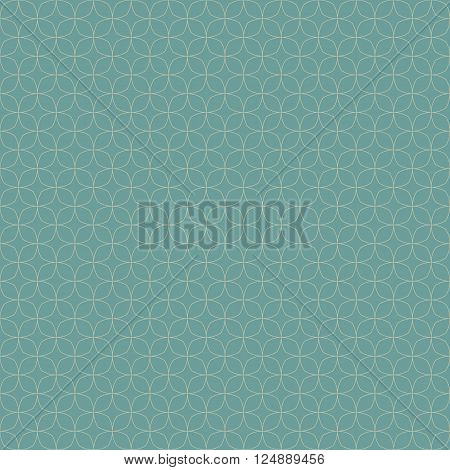 Seamless round corner squares pattern background, Vector illustration with swatches