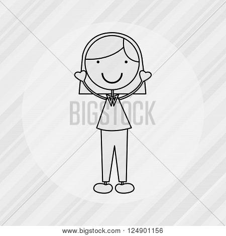 kids happy design, vector illustration eps10 graphic