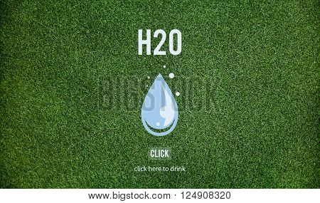 H2O Environment Ecology Sustainable Concept