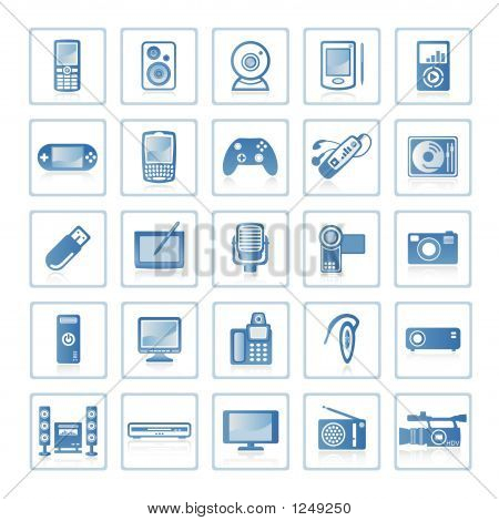 Web Icons : Electronics And Technology