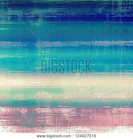 Vintage elegant background, creased grunge backdrop with aged texture and different color patterns: blue; purple (violet); white; cyan; pink