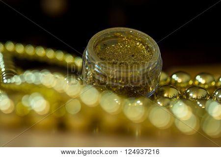Gold Makeup Glitter
