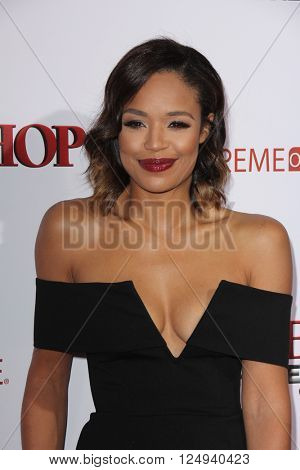 LOS ANGELES - APR 6:  Sarah-Jane Crawford at the Barbershop - The Next Cut Premiere at the TCL Chinese Theater on April 6, 2016 in Los Angeles, CA