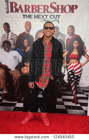 LOS ANGELES - APR 6:  Michael Rainey Jr. at the Barbershop - The Next Cut Premiere at the TCL Chinese Theater on April 6, 2016 in Los Angeles, CA