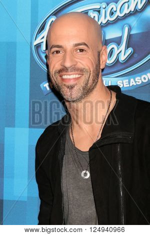LOS ANGELES - APR 7:  Chris Daughtry at the American Idol FINALE Arrivals at the Dolby Theater on April 7, 2016 in Los Angeles, CA