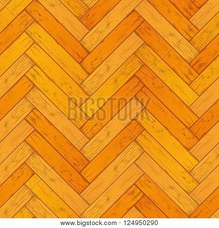 Bright wooden parquet, realistic floor seamless pattern seamless pattern