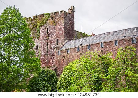 Old castle in Brecknockshire in Brecon Beacons in South Wales. Brecon Beacons is a chain of mountains in the South of Wales of the United Kingdom.