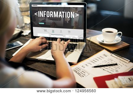 Info Information Results Research Statistics Sharing Concept