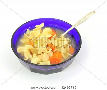 Chicken Soup And Spoon