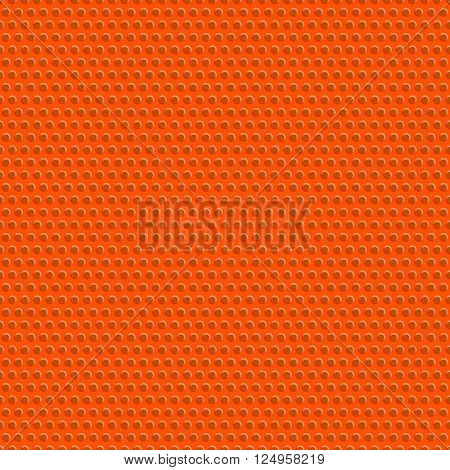 Texture and seamless pattern of basketball ball. Sports background. Stock vector illustration.