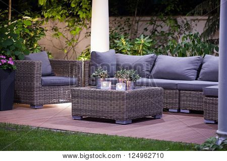 Luxurious Rattan Garden Furnitures