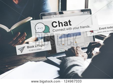 Chat Online Communication Social Media Concept