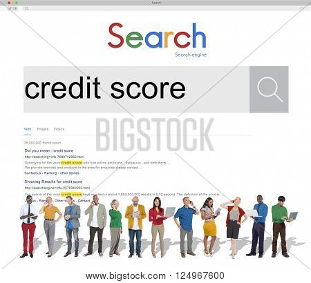 Credit Score Finance Capital Banking Concept