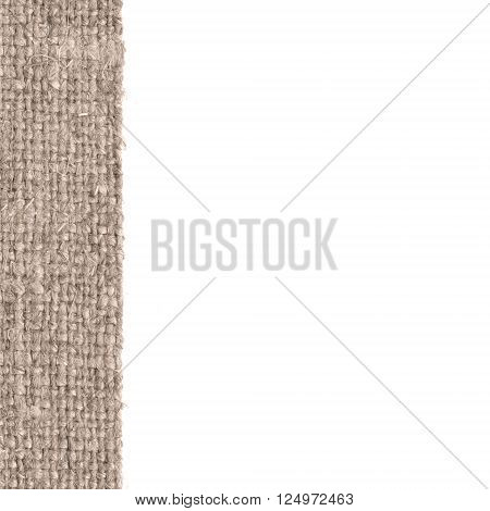 Textile structure fabric image buff canvas hemp material close-up background