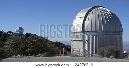 TUCSON, ARIZONA, FEBRUARY 28. Kitt Peak National Observatory on February 28, 2016, near Tucson, Arizona. A view of the SARA Telescope at Kitt Peak National Observatory near Tucson Arizona.