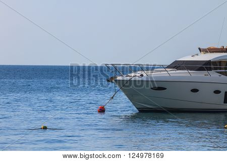 Speed Boat on the sea Koh hong Krabi Thailand