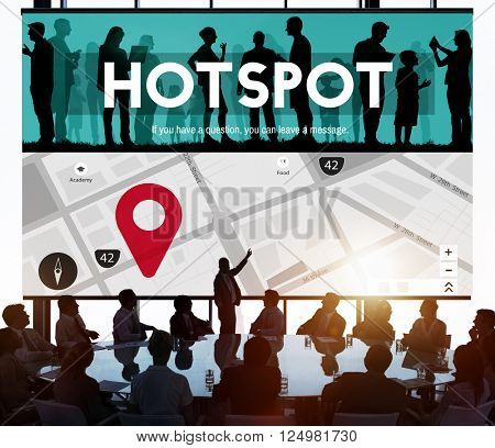 Hotspot Technology Network Internet Connection Concept