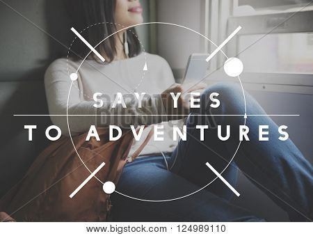 Adventure Destination Expedition Exploration Concept