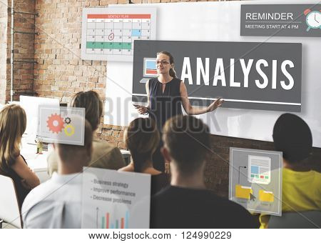 Analysis Research Statistics Strategies Insight Concept