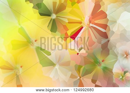 Colourful Spark And Blow Lovely Fantasy Mood Abstract Sweet Cheerful Background