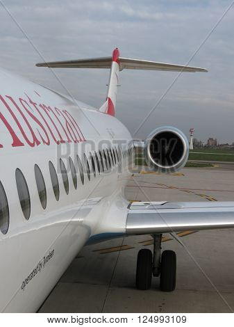 Austrian Airlines Aircraft