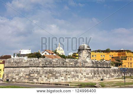 Bulwark of Santiago  in Cartagena de Indias