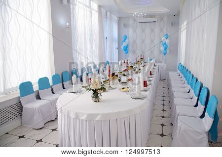 St. Petersburg, Russia - March 19, 2016: restaurant