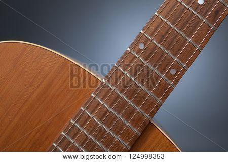 Detail Of A Guitar