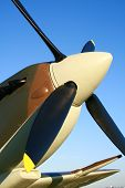stock photo of spitfire  - supermarine spitfire of the royal air force  - JPG