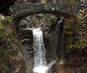 Waterfall Bridge Painting
