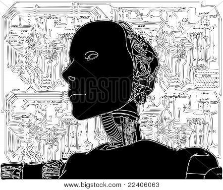 Android revela tecnologia interna de seu vetor de circuito elétrico