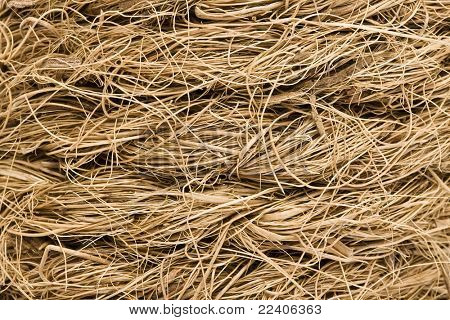 Coarse coir rope texture