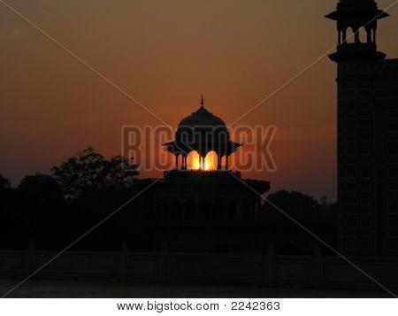 Sunset By Taj