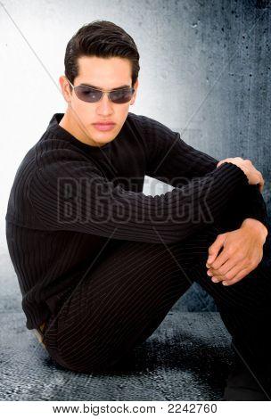 Elegant Man Portrait