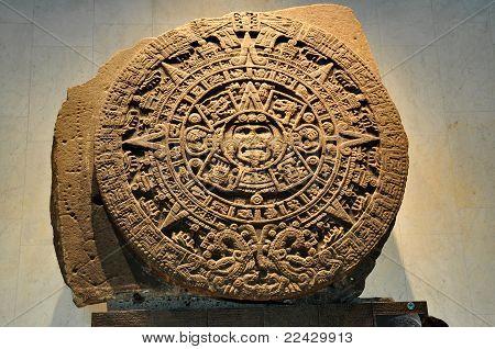 Aztec Calendar Stone - Mexico City