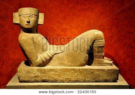 Chac Mool - Mexico City
