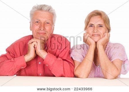 Aged Couple Portrait