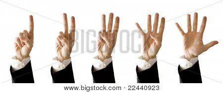 contador de manos