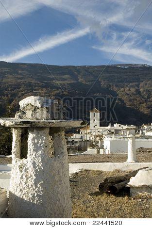 white town in alpujarras