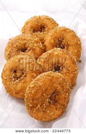 Half A Dozen Doughnuts