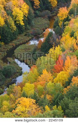Autumn Porcupine Mountains