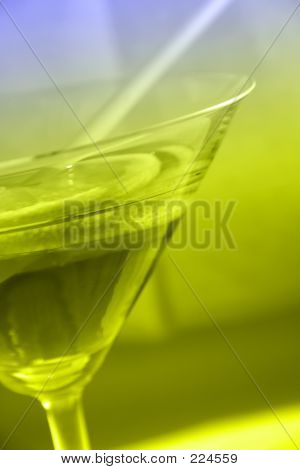 Martini Glass Close-up