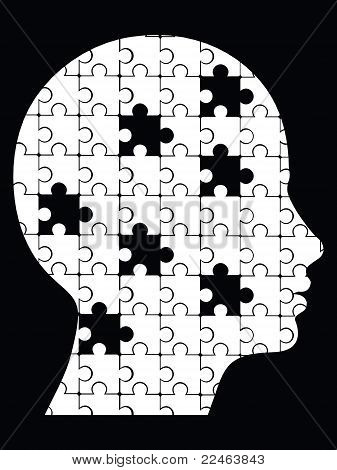 missing pieces puzzle head