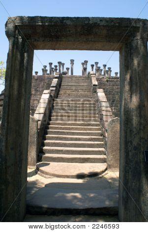 Steps In Mandalagiri Vihara