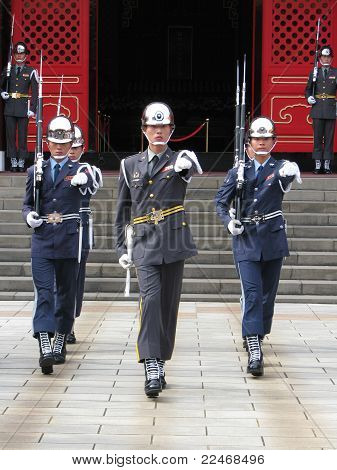 Changing of the Guards - Taipei