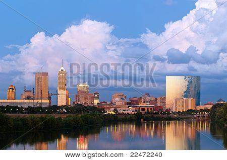 Horizonte de Indianapolis.