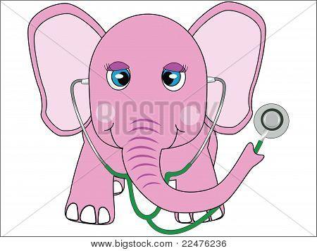 female doctor elephant